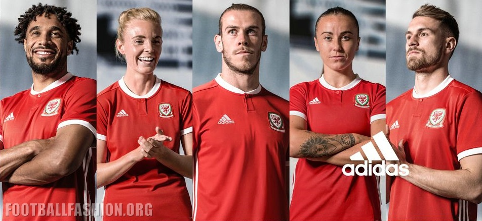 info for a20be 2e66d Wales 2018/19 adidas Home Kit - FOOTBALL FASHION.ORG