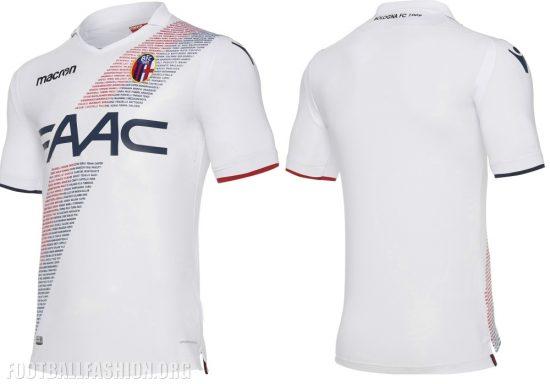 Bologna 2017 2018 Macron Home, Away and Third Football Kit, Soccer Jersey, Shirt, Gara, Maglia
