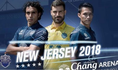 Buriram United 2018 Warrix Home and Away Football Kit, Soccer Jersey, Shirt
