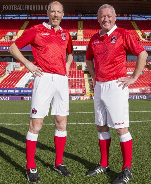 3bfa4e0197ff5 Charlton Athletic 'Back to The Valley' 25th Anniversary Football Kit,  Soccer Jersey,