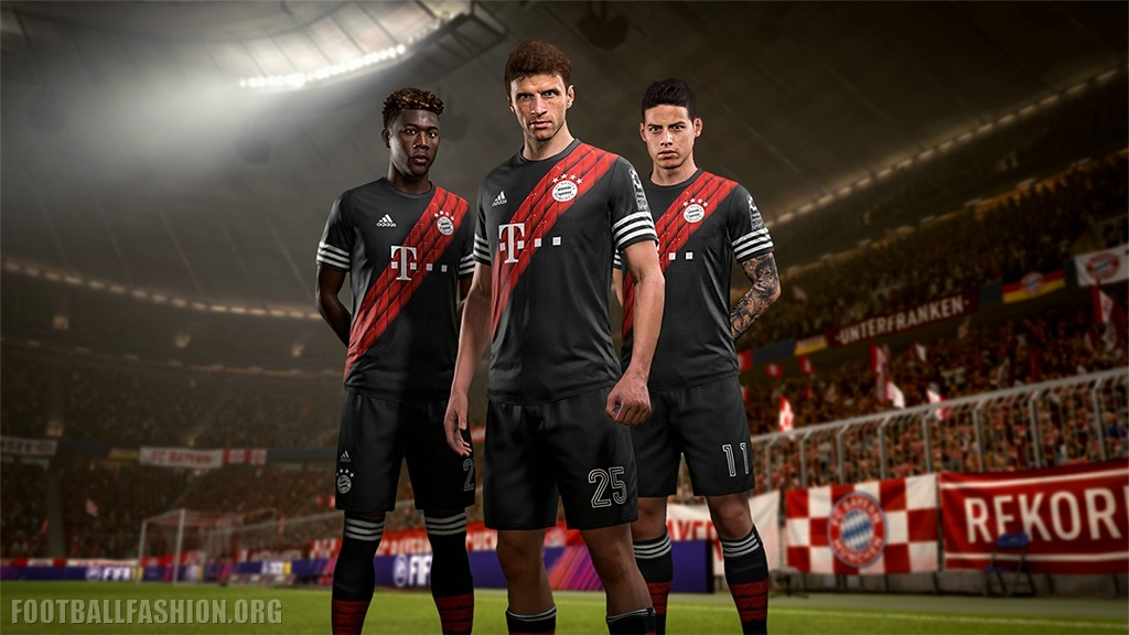Modernización enfermo El sendero  FIFA 18 x adidas Real Madrid, Man Utd, Bayern & Juve 4th Kits - FOOTBALL  FASHION