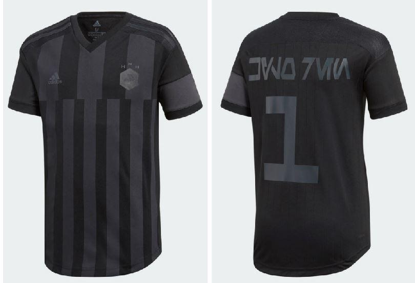 6b6866c20 ... wholesale adidas x star wars kylo ren 2018 soccer jersey football  fashion 62ac7 7ad8f
