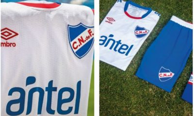 Club Nacional 2018 Umbro Home Football Kit, Soccer Jersey, Shirt, Camiseta de Futbol