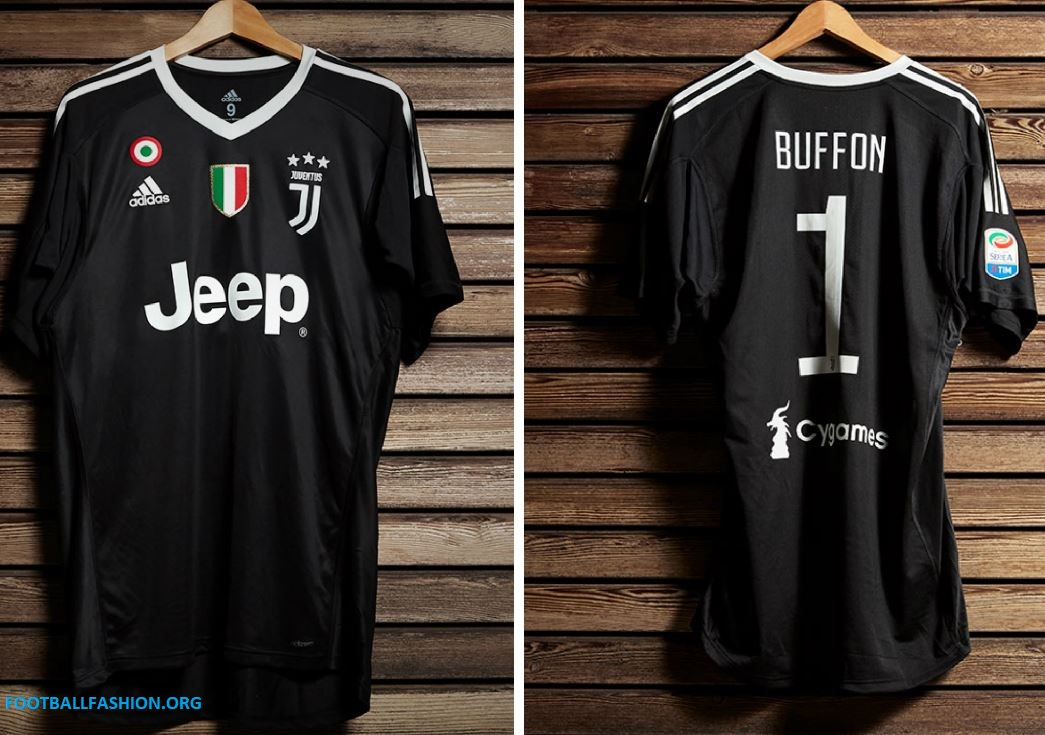 2e99a9b98 Juventus x Gigi Buffon 2018 adidas Black Kit - FOOTBALL FASHION.ORG