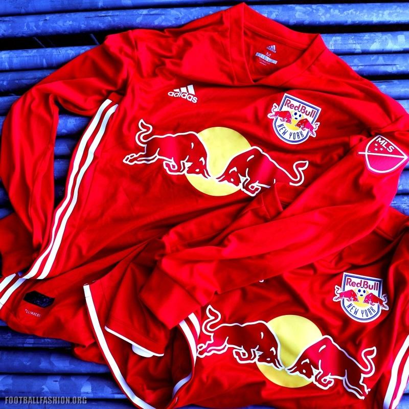 fbe25669bc6 New York Red Bulls 2018 adidas Red Jersey - Football Fashion