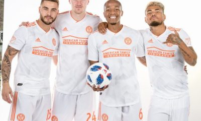 Atlanta United 2018 adidas Away Soccer Jersey, Shirt, Football Kit, Camiseta de Futbol