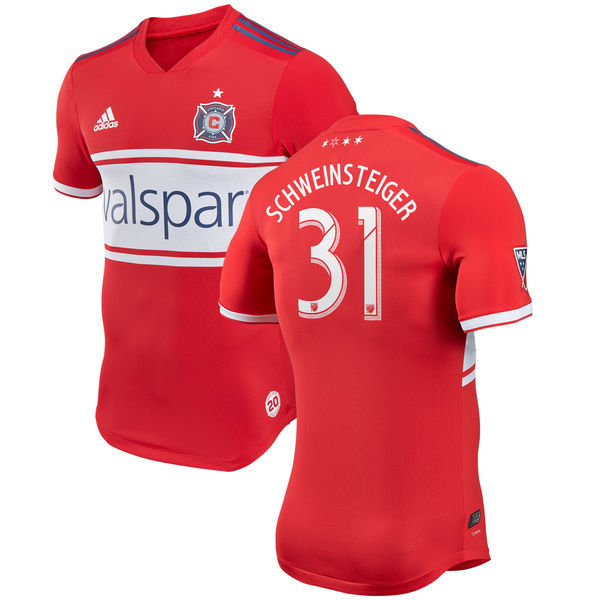 Chicago Fire 2018 2019 adidas Home Soccer Jersey, Shirt, Football Kit,  Camiseta de