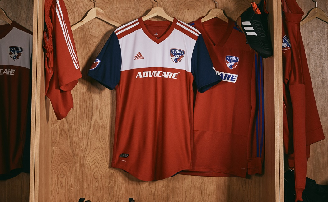 new arrival 56485 7413f FC Dallas 2018 adidas Home Jersey - FOOTBALL FASHION.ORG