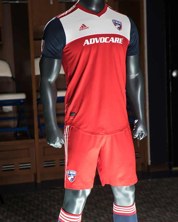 new arrival a469d a1557 FC Dallas 2018 adidas Home Jersey - FOOTBALL FASHION.ORG