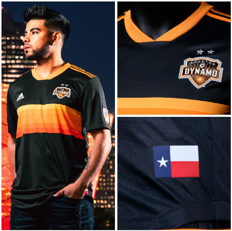 pretty nice 0fe8e 224c5 Houston Dynamo 2018 adidas Away Jersey - FOOTBALL FASHION.ORG