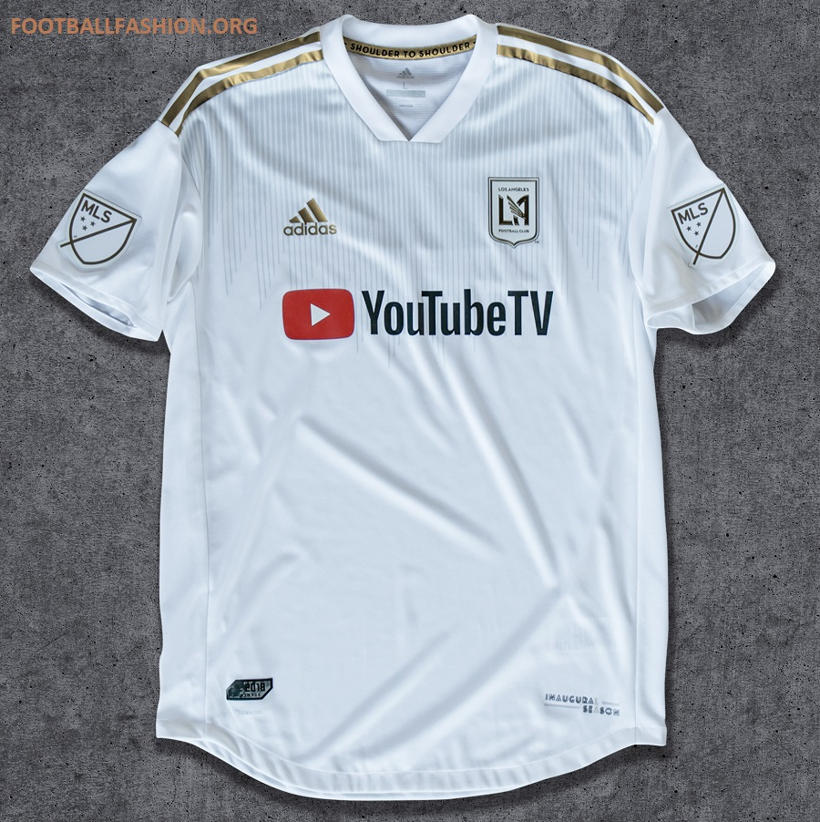 The YouTube TV logo will be prominently displayed on the LAFC jersey a89ccdbda