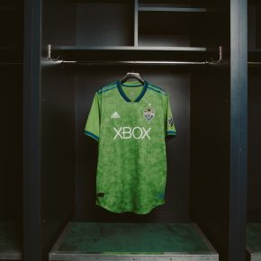 Seattle Sounders FC 2018 adidas Home Soccer Jersey, Football Kit, Shirt, Camiseta de Futbol
