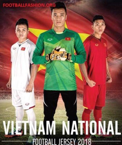 Vietnam 2018 Grand Sport Home and Away Football Kit, Soccer Jersey, Shirt