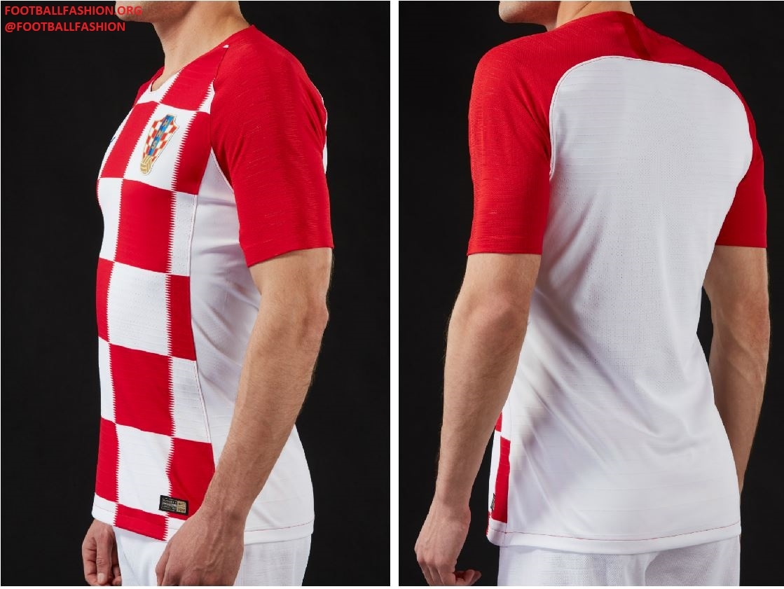Croatia 2018 World Cup Nike Home and Away Kits – FOOTBALL FASHION.ORG bcd96c349