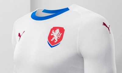 Czech Republic 2018 2019 White Away Football Kit, Soccer Jersey, Shirt, nové dresy pro
