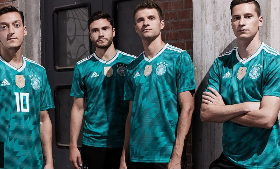 separation shoes 29c8d 8e835 Germany 2018 World Cup adidas Away Kit - FOOTBALL FASHION.ORG