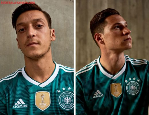 Germany 2018 FIFA World Cup adidas Green Away Football Kit, Shirt, Soccer Jersey, Trikot, Fussball-Weltmeisterschaft, Auswärtstrikot WM
