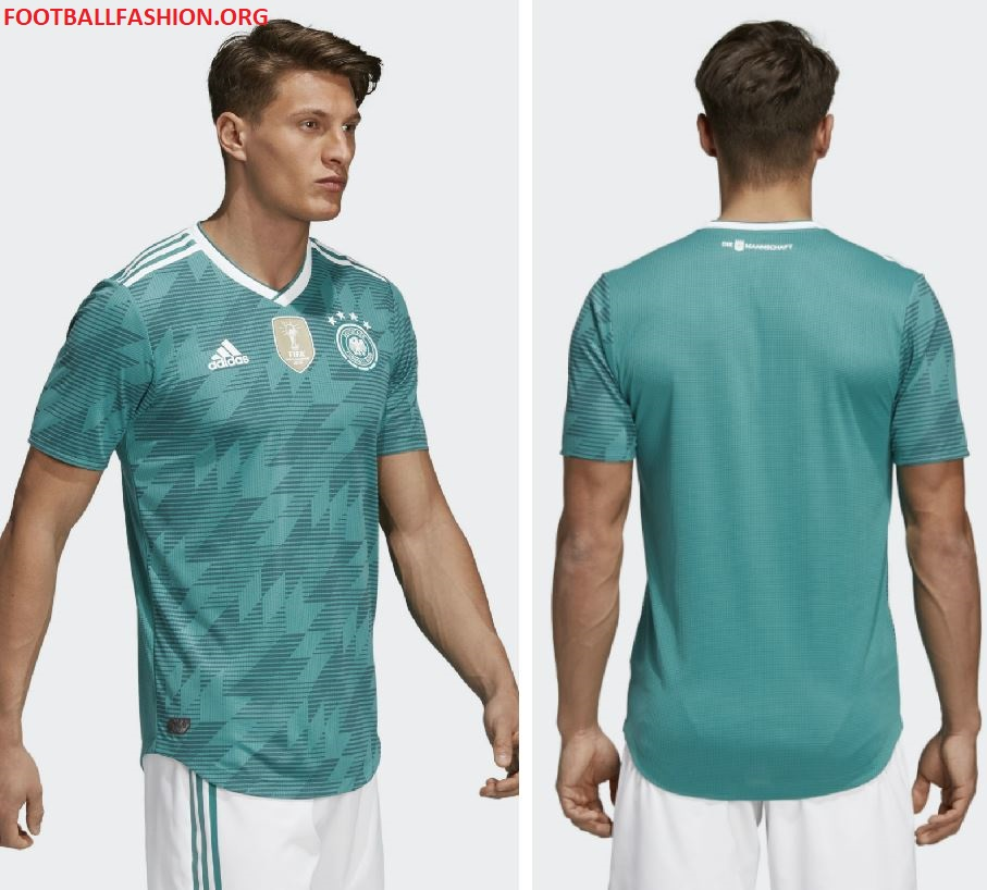 Germany 2018 World Cup adidas Away Kit – FOOTBALL FASHION.ORG af3cc1c3c