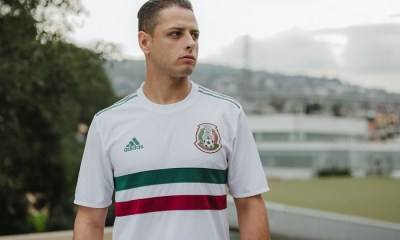 Mexico 2018 World Cup adidas White Away Soccer Jersey, Football Kit, Shirt, Camiseta de Futbol, Equipacion, Playera, Uniforme, Copa Mundial Rusia