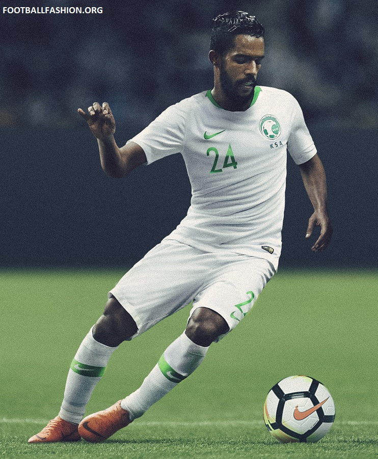 online store bbbef e8642 Saudi Arabia 2018/19 Nike Home and Away Kits - FOOTBALL ...