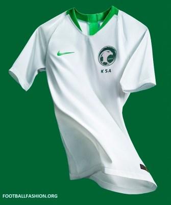 Saudi Arabia 2018 World Cup Nike Home and Away Football Kit, Soccer Jersey, Shirt
