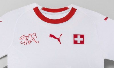 Switzerland 2018 FIFA World Cup PUMA Away Football Kit, Soccer Jersey, Shirt, Maillot, Trikot, Maglia, Gara
