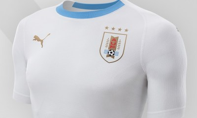 Uruguay 2018 World Cup PUMA Away Football Kit, Soccer Jersey, Shirt, Camiseta de Futbol Mundial, Equipacion