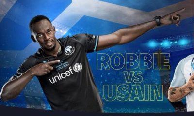 Team Usain Bolt Soccer Aid 2018 PUMA Football Kit, Soccer Jersey, Shirt