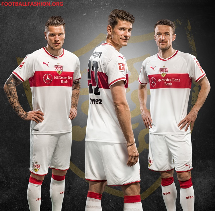 vfb stuttgart 2018 19 puma home kit football fashion org. Black Bedroom Furniture Sets. Home Design Ideas