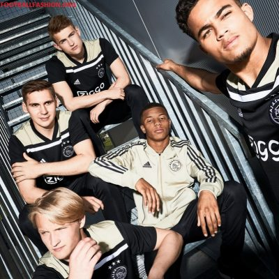 AFC Ajax Amsterdam 2018 2019 adidas Away Football Kit, Soccer Jersey, Shirt, Uitshirt, Uittenue