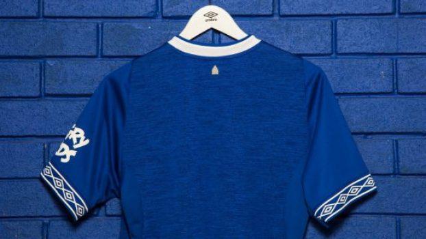 Everton FC 2018 2019 Umbro Home Football Kit, Soccer Jersey, Shirt, Camiseta, Camisa, Trikot, Maillot