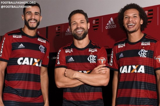 CR Flamengo 2018 adidas Icon Football Kit, Soccer Jersey, Shirt, Camisa, Camiseta