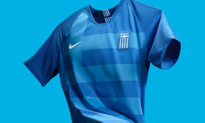 Greece 2018 2019 Nike Home and Away Football Kit, Soccer Jersey, Shirt