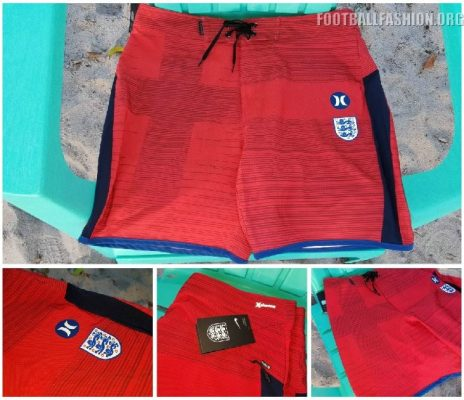 Hurley 2018 World Cup USA, England, France, Portugal, Australia, Nigeria National Soccer Team Phantom Board Shorts