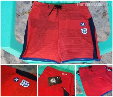 Hurley 2018 World Cup USA, England, France, Portugal, Australia, Nigeria National Soccer Team Phantom Board Shorts