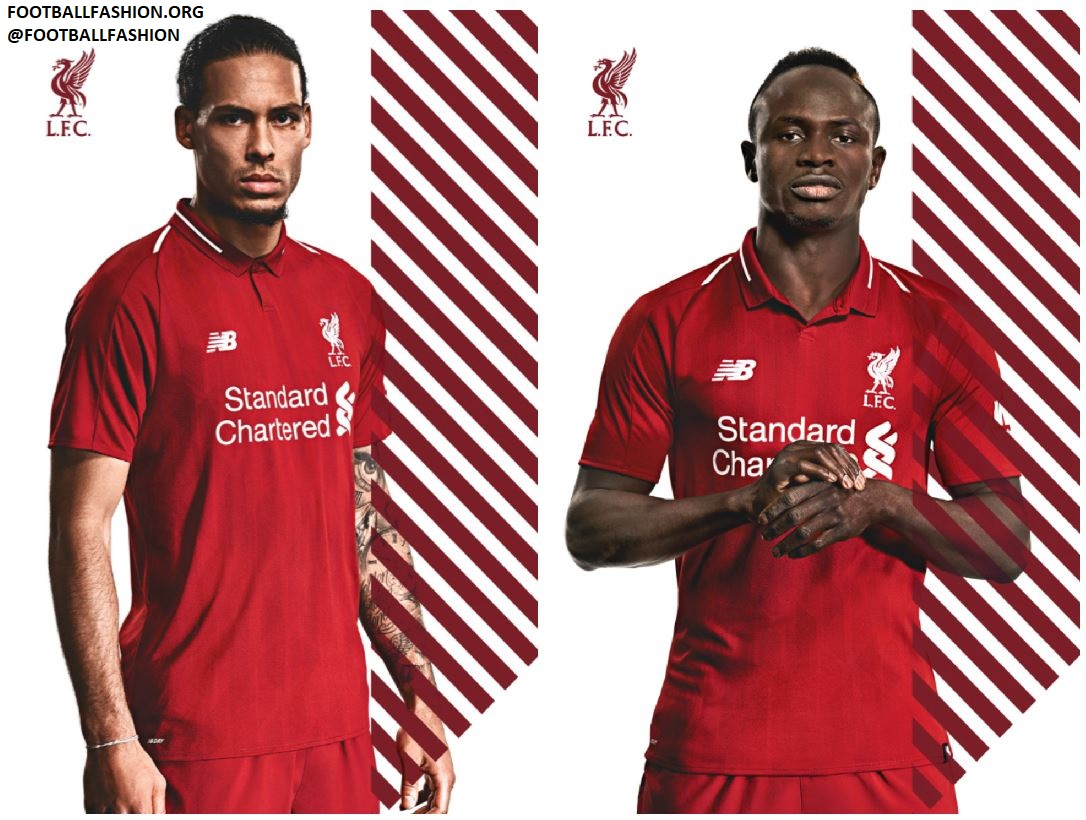 promo code 756a7 71dde Liverpool FC 2018/19 New Balance Home Kit - FOOTBALL FASHION.ORG