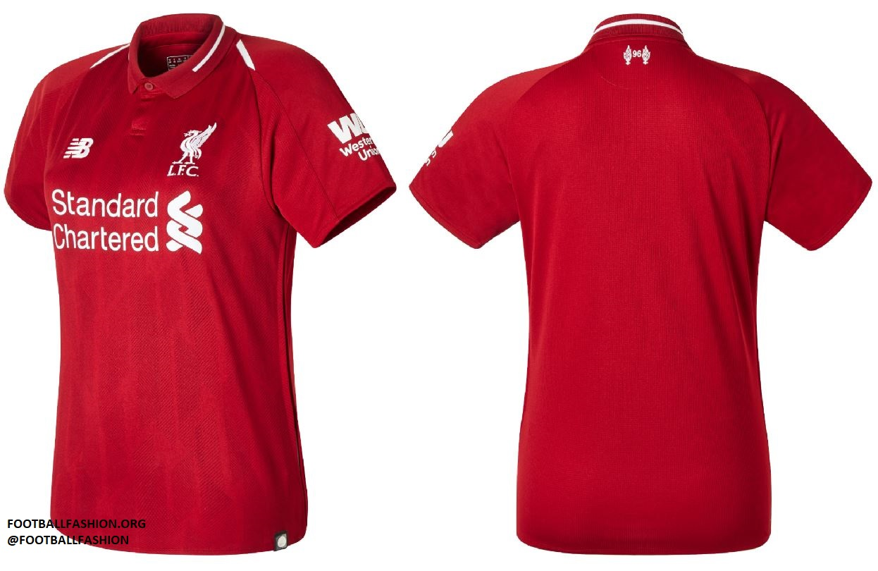 Liverpool FC 2018/19 New Balance Home Kit - FOOTBALL ...
