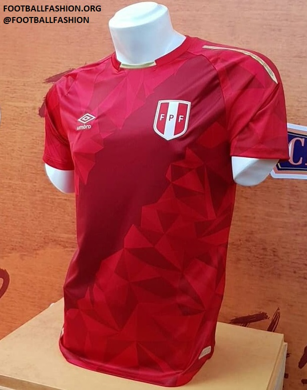 ac9b64dea Peru 2018 World Cup Umbro Third Kit - FOOTBALL FASHION.ORG