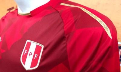 Peru 2018 FIFA World Cup Umbro Third Soccer Jersey, Football Shirt, Shirt, Camiseta de Futbol Copa Mundial Rusia, Equipacion