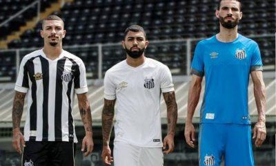 Santos FC 2018 2019 Umbro Home and Away Football Kit, Soccer Jersey, Shirt, Camisa, Camiseta