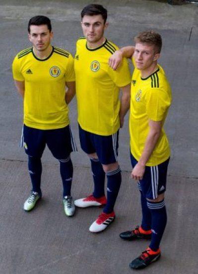 Scotland 2018 2019 adidas Away Football Kit, Soccer Jersey, Shirt