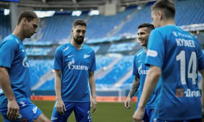 FC Zenit Saint Petersburg 2018 2019 Nike Home Football Kit, Soccer Jersey, Shirt