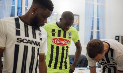 Angers SCO 2018 2019 Kappa Home, Away and Third Football Kit, Soccer Jersey, Shirt, Maillot