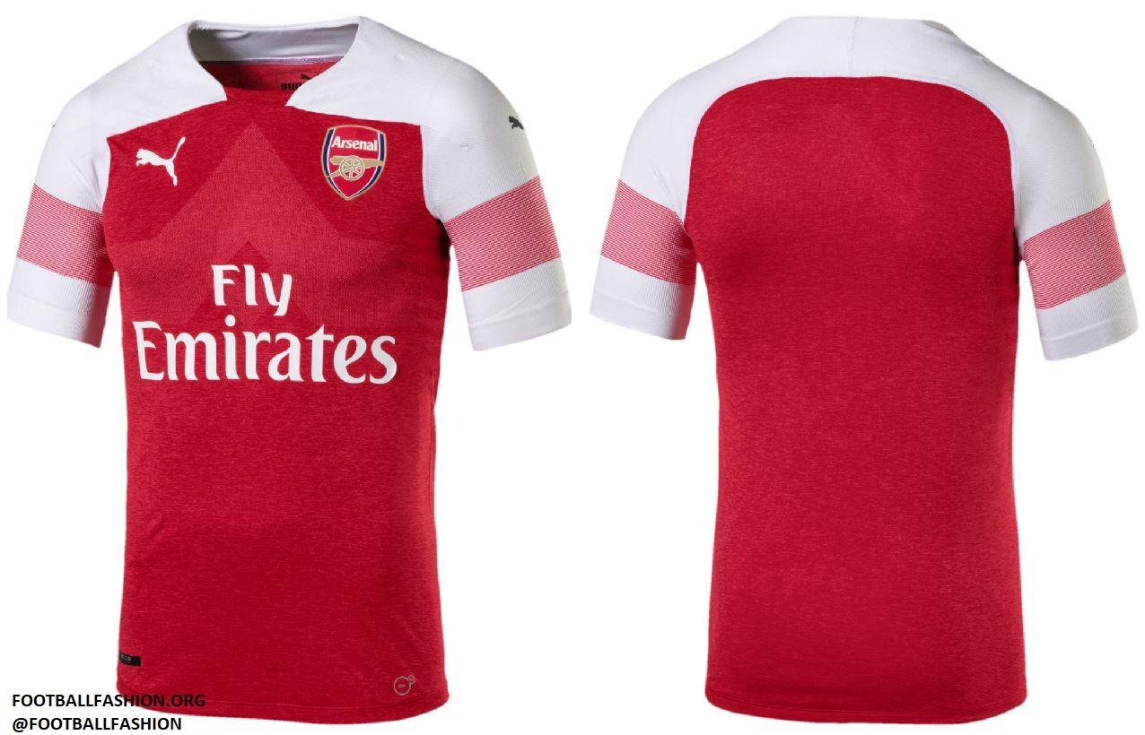 Arsenal FC 2018 19 PUMA Home Kit – FOOTBALL FASHION.ORG fa8f07a8c