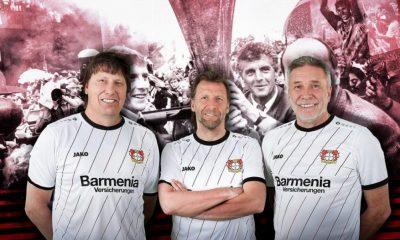 Bayer 04 Leverkusen 2018 2019 UEFA Cup 30th Anniversary Jako Football Kit, Soccer Jersey, Trikot, Shirt, Sondertrikot, 30 Jahre