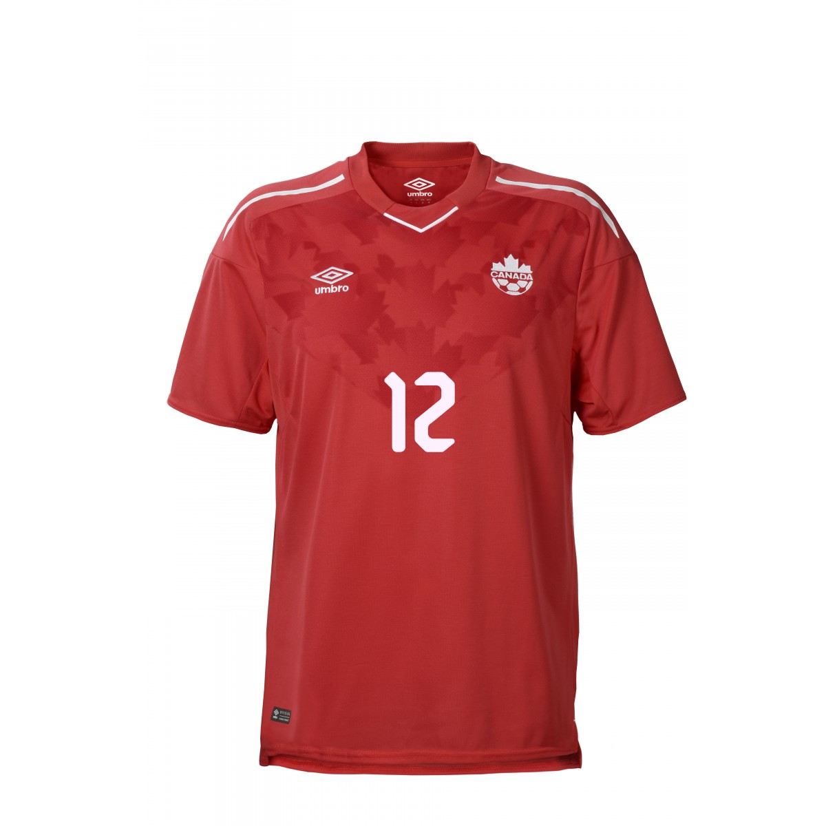 3ff36ddc998 Canada 2018m 2019 Umbro Home Soccer Jersey, Football Kit, Shirt, Maillot