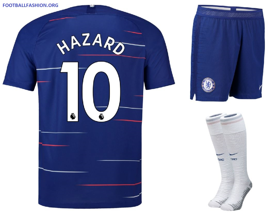 los angeles d426f cd8c7 Chelsea FC 2018/19 Nike Home Kit - FOOTBALL FASHION.ORG