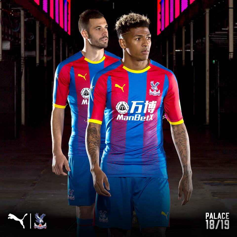 15c960cf2 Crystal Palace Sign with PUMA. Unveil 2018 19 Kits. - FOOTBALL ...