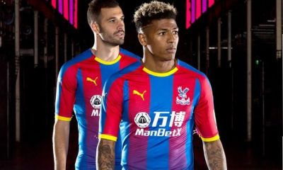 Crystal Palace 2018 2019 PUMA Home and Away Football Kit, Soccer Jersey, Shirt, Maillot, Camiseta, Camisa, Trikot