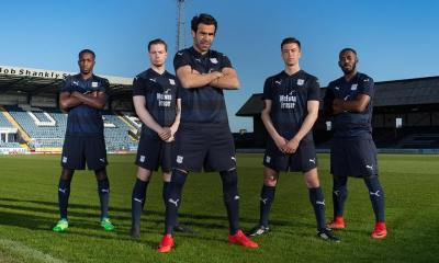 Dundee FC 2018 2019 PUMA Home Football Kit, Soccer Jersey, Shirt